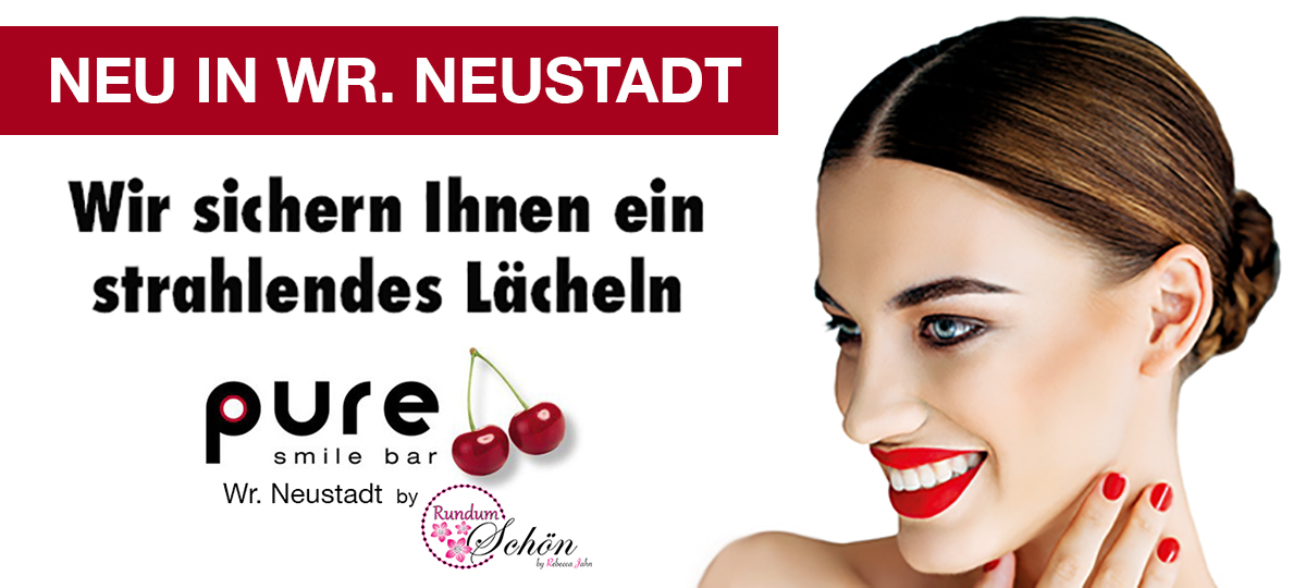 Pure Smile Bar Wr Neustadt by Rundum Schön by Rebecca Jahn